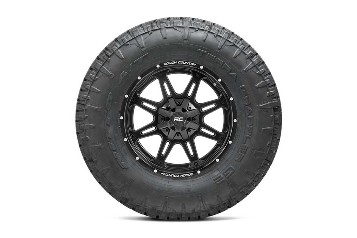 Nitto 35x12.50R20 Terra Grappler G2 w/ Rough Country Series 94  20x10 Combo (8x6.5)