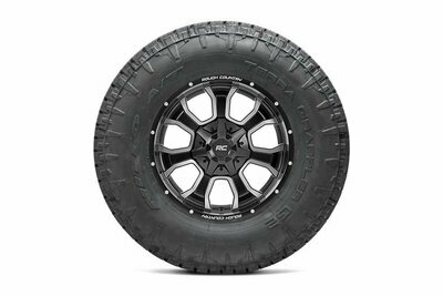 Nitto 35x12.50R20 Terra Grappler G2 w/ Rough Country Series 93 20x10 Combo (6x5.5 / 6x135)