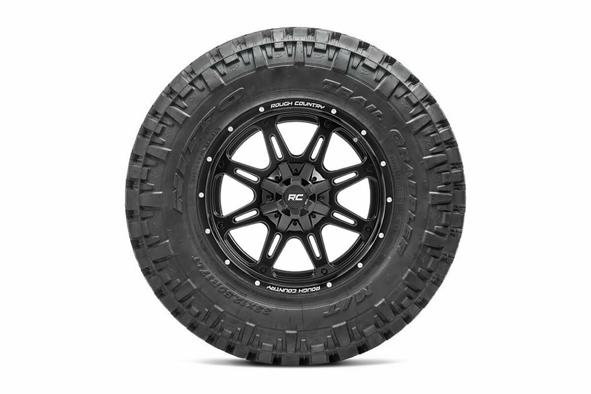 Nitto 35x12.50R20 Trail Grappler w/ Rough Country Series 94 20x10 Combo (5x5 / 5x4.5)