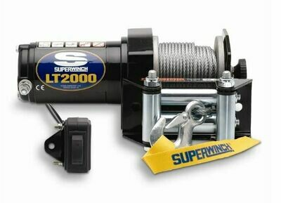2,000 lbs, 12 VDC, SUPERWINCH LT SERIES
