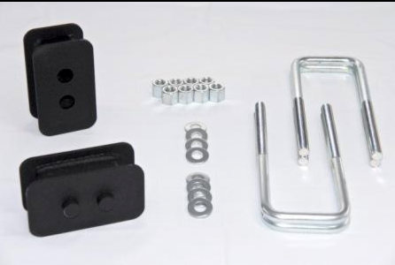"""2009-2020 Ford F-150 4x4 Rear (2"""" block replaces factory block)"""