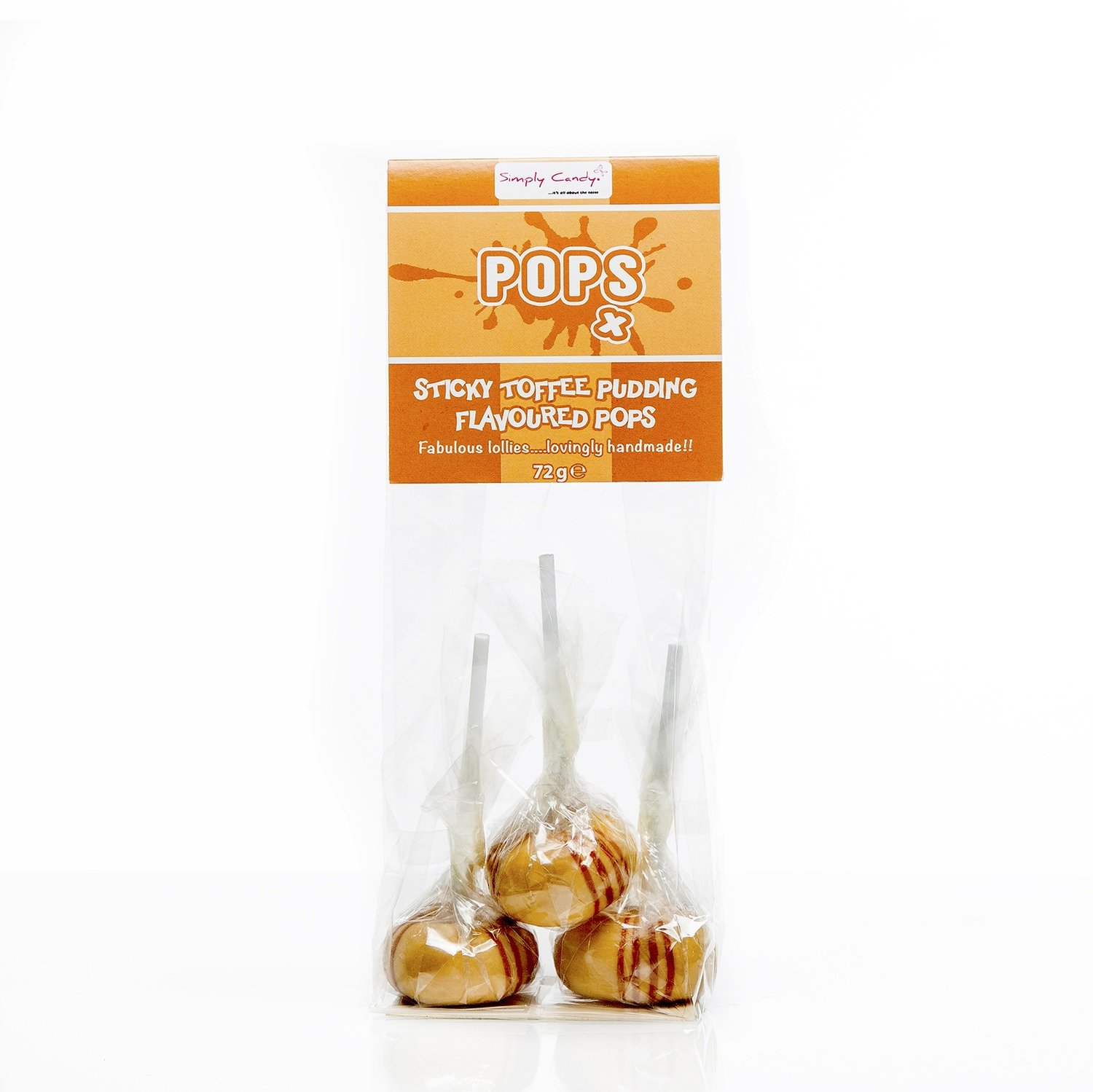 Sticky Toffee Pudding Pops (*pack of 3)