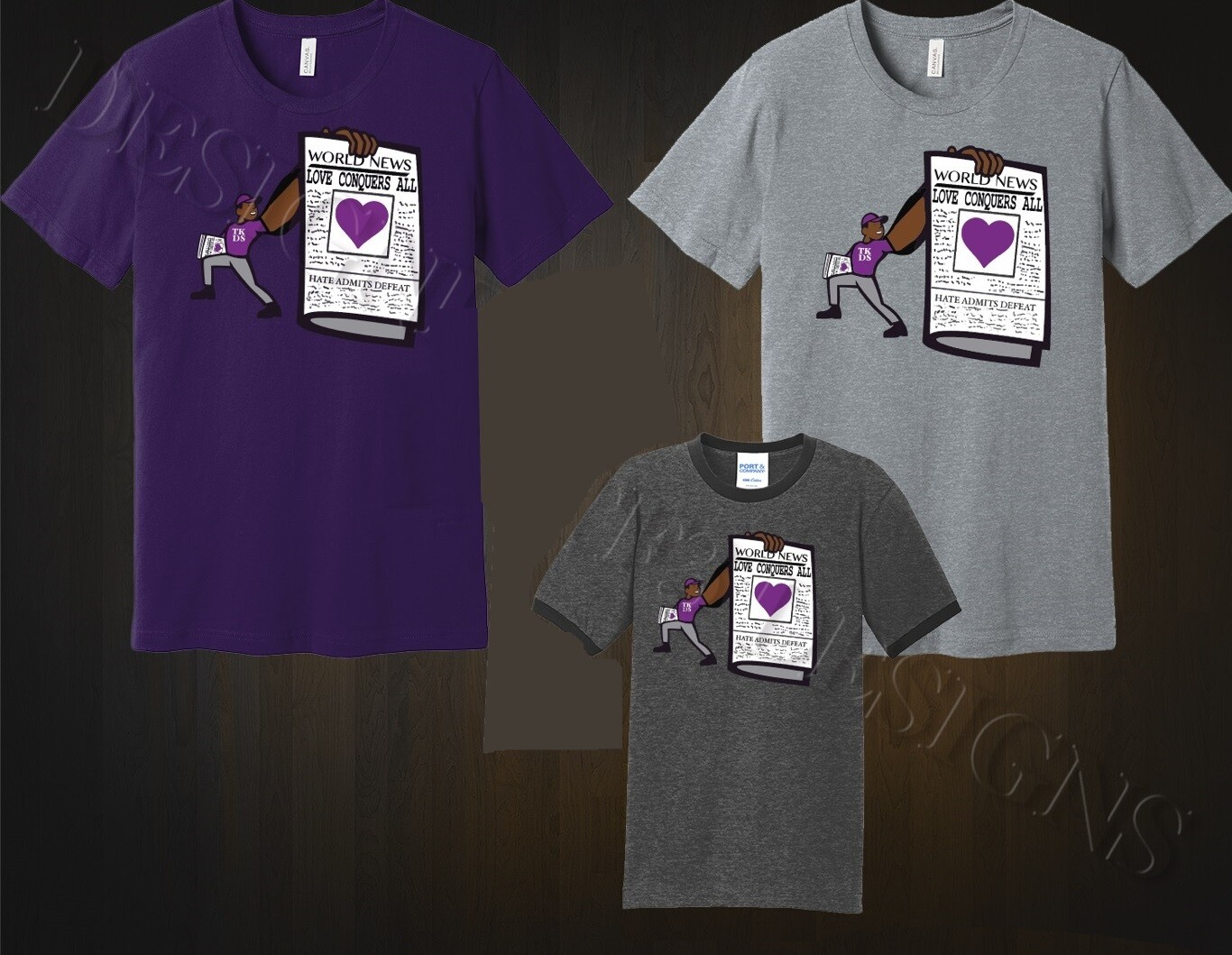 News: Love Conquers All Tee
