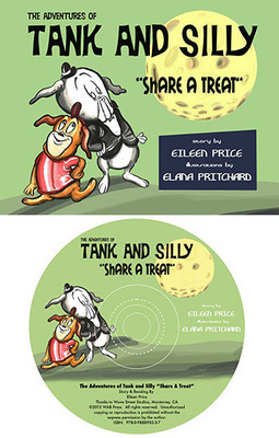 Book & CD: Tank and Silly Share a Treat