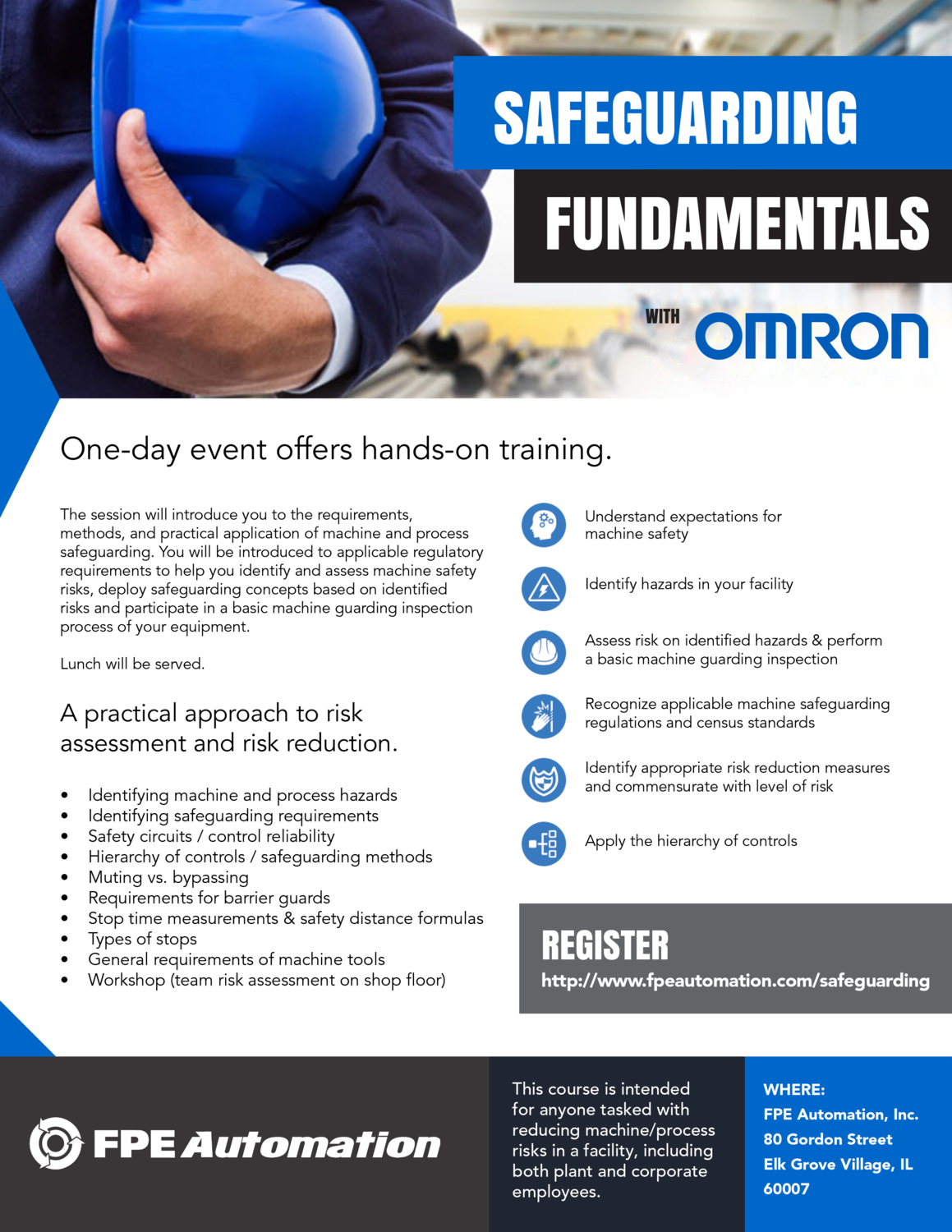 Safeguarding Fundamentals with Omron
