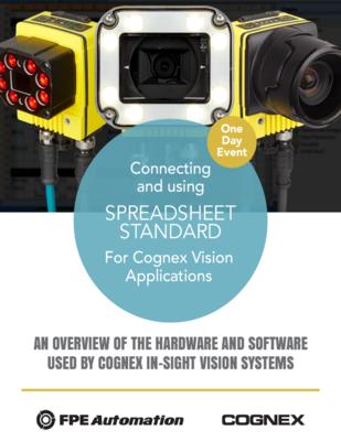 Cognex Spreadsheet Standard Training