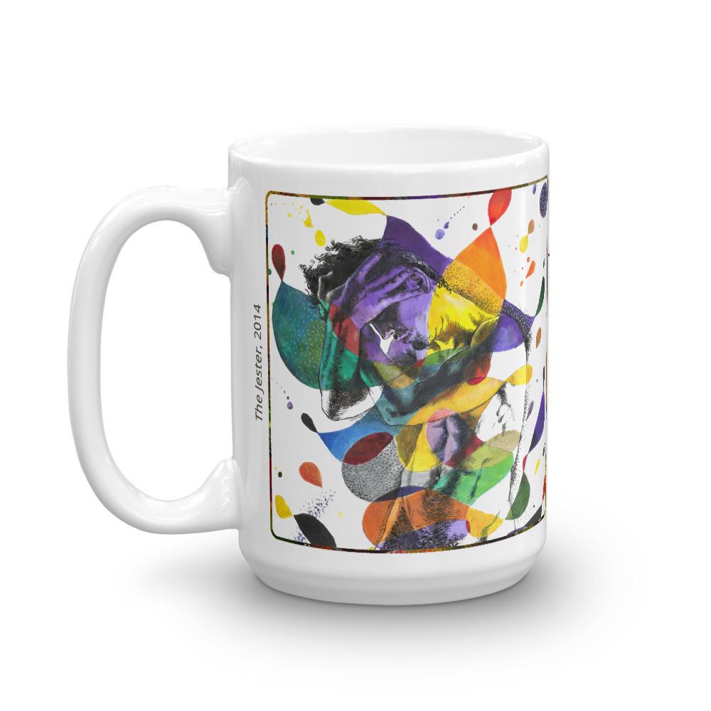 """Jester"" 15oz Mug   Free Shipping Worldwide"