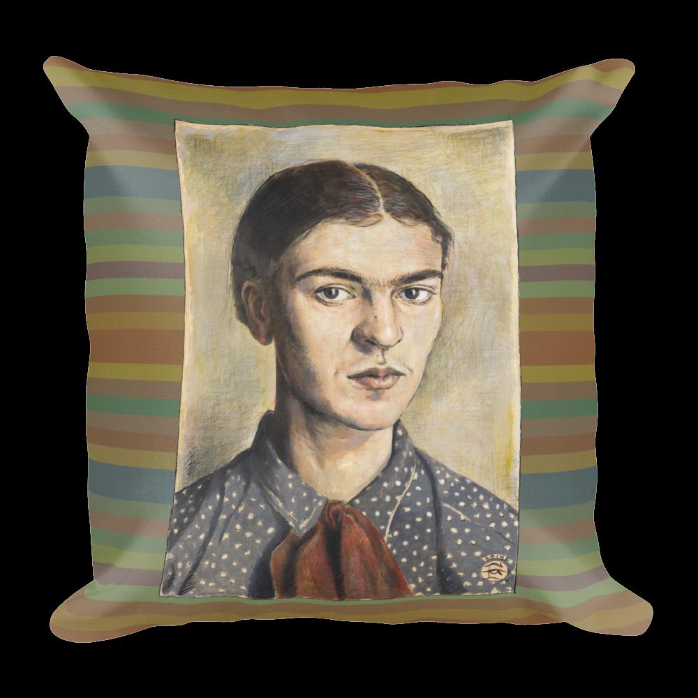 "Frida Kahlo 18""X18"" Pillow | Free Shipping Worldwide"