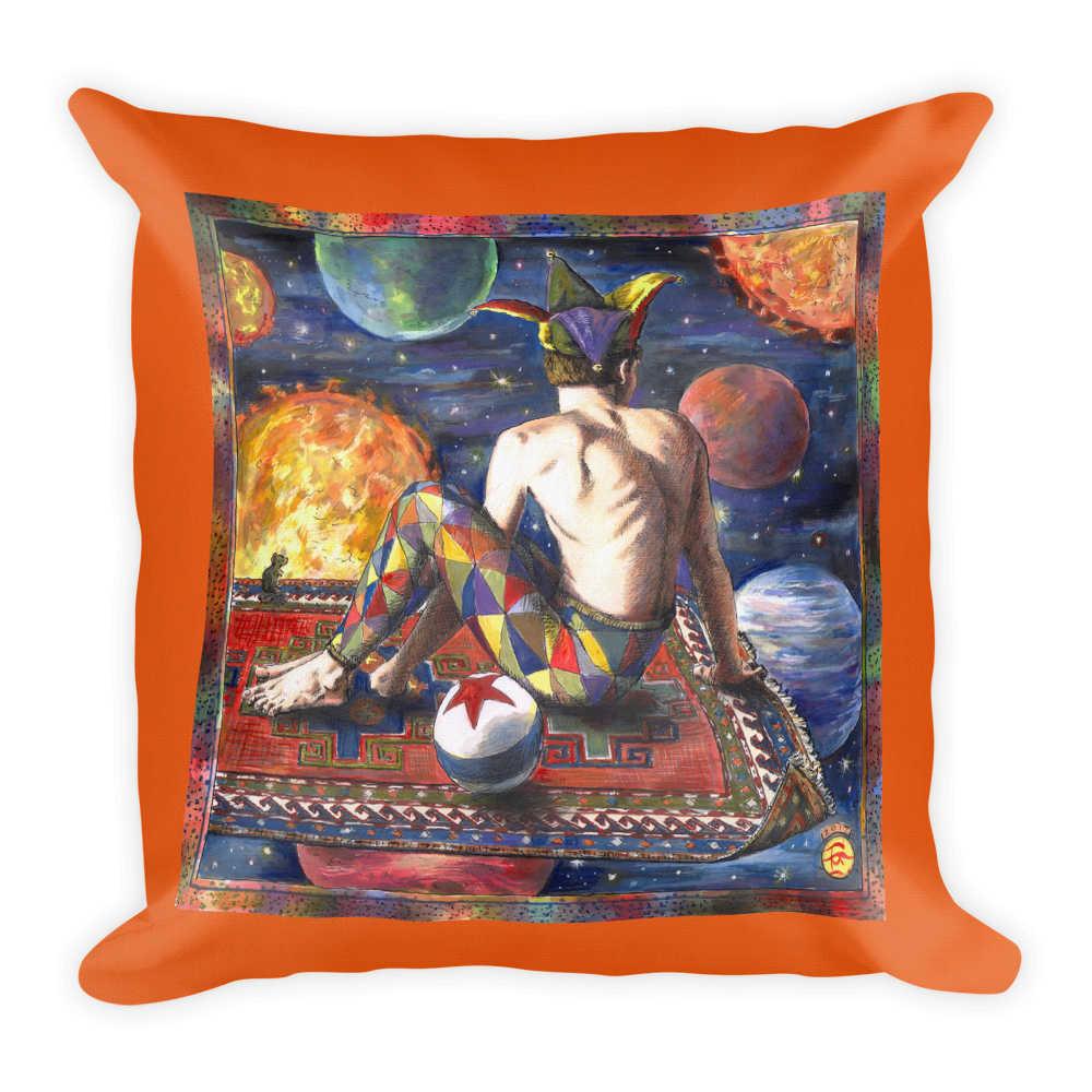"""""""Above it All"""" 18""""X18"""" Pillow   Free Shipping Worldwide"""