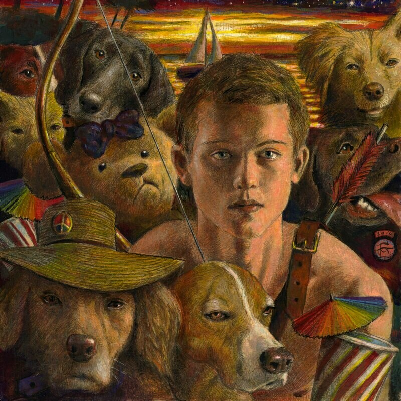 """""""By Dusk, the Boy Had Given Up on People"""" Limited Edition Print"""