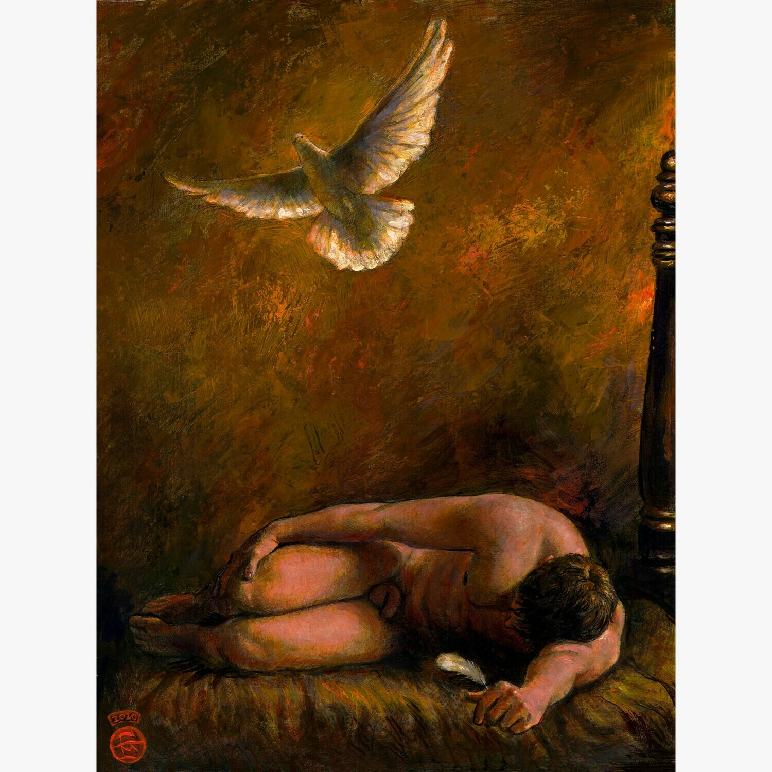 """Dove in Flight"" Limited Edition Print"