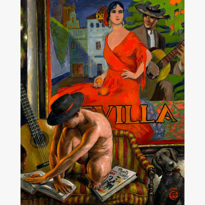 """""""Dreamer (Feria de Sevilla)"""" Limited Edition Print"""