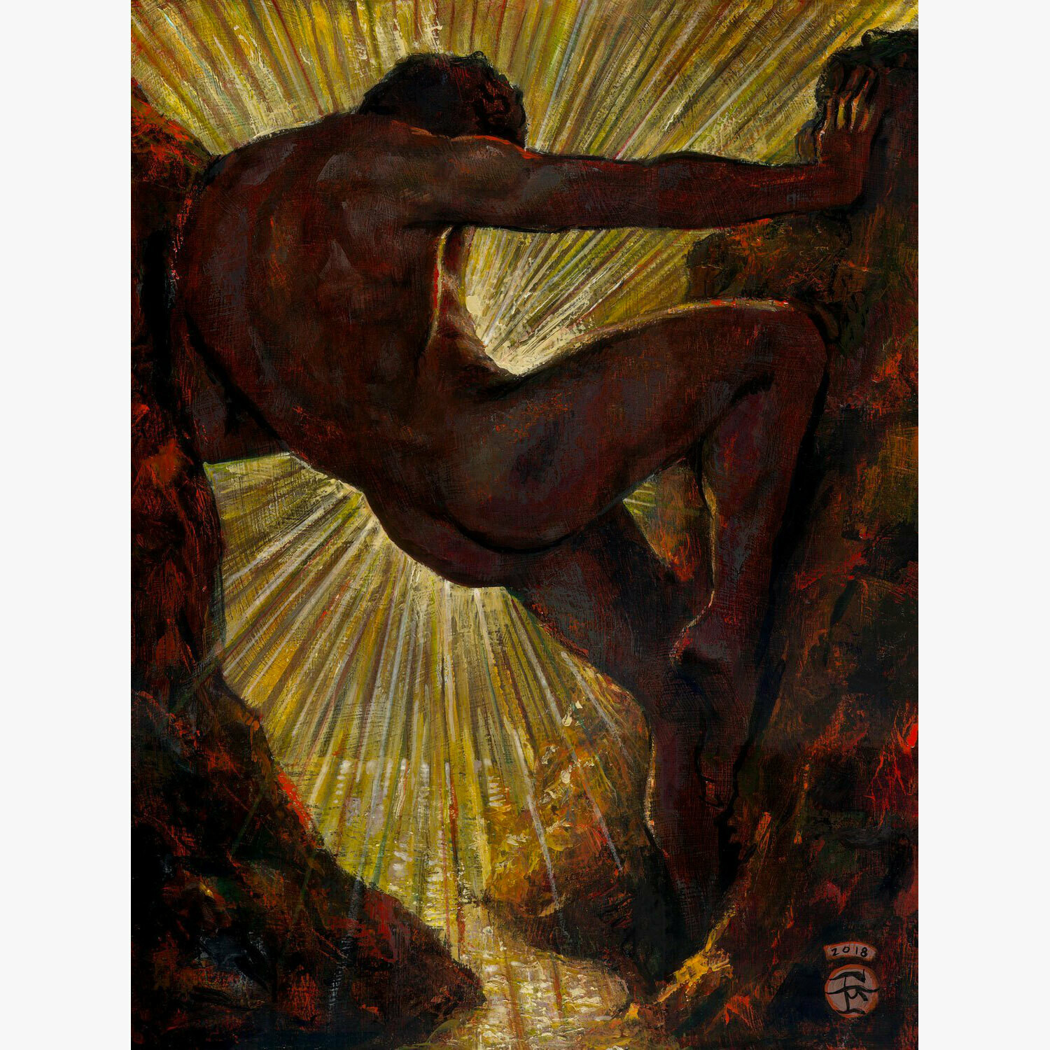 """Thirteenth Labor of Hercules"" Limited Edition Print"