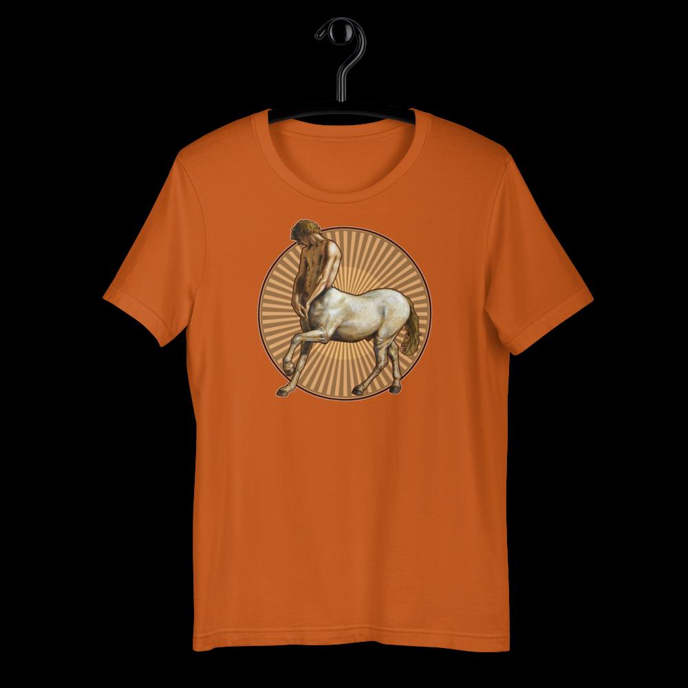 """Pensive Centaur"" Unisex T-Shirt | Free Shipping Worldwide"