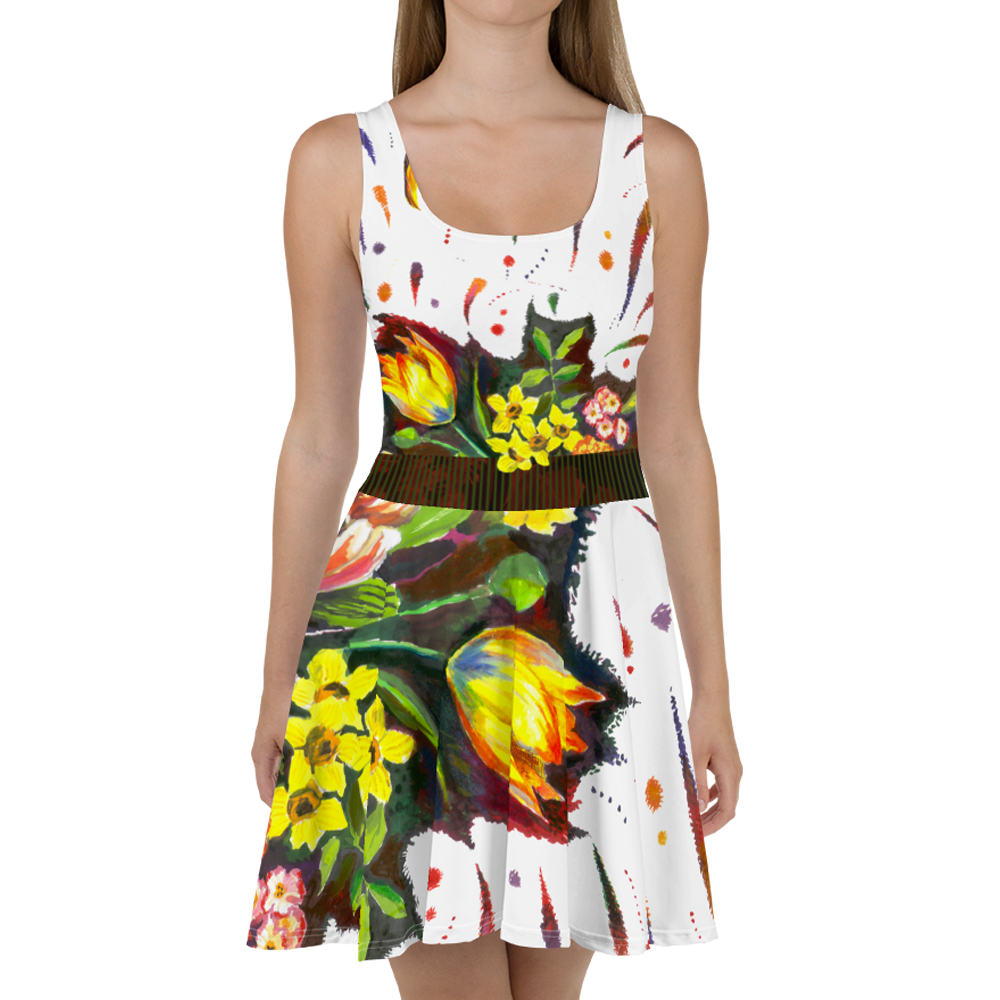 """""""For You"""" Skater Dress 