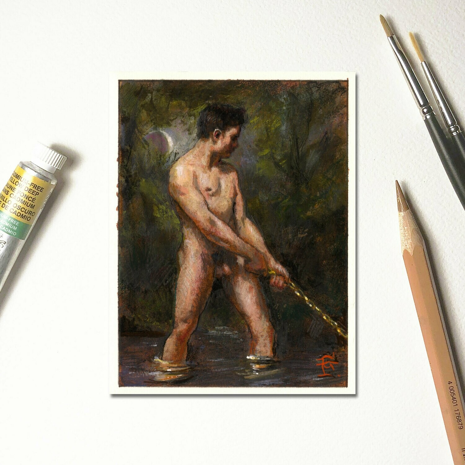 """Miniature Painting """"Unchained"""""""