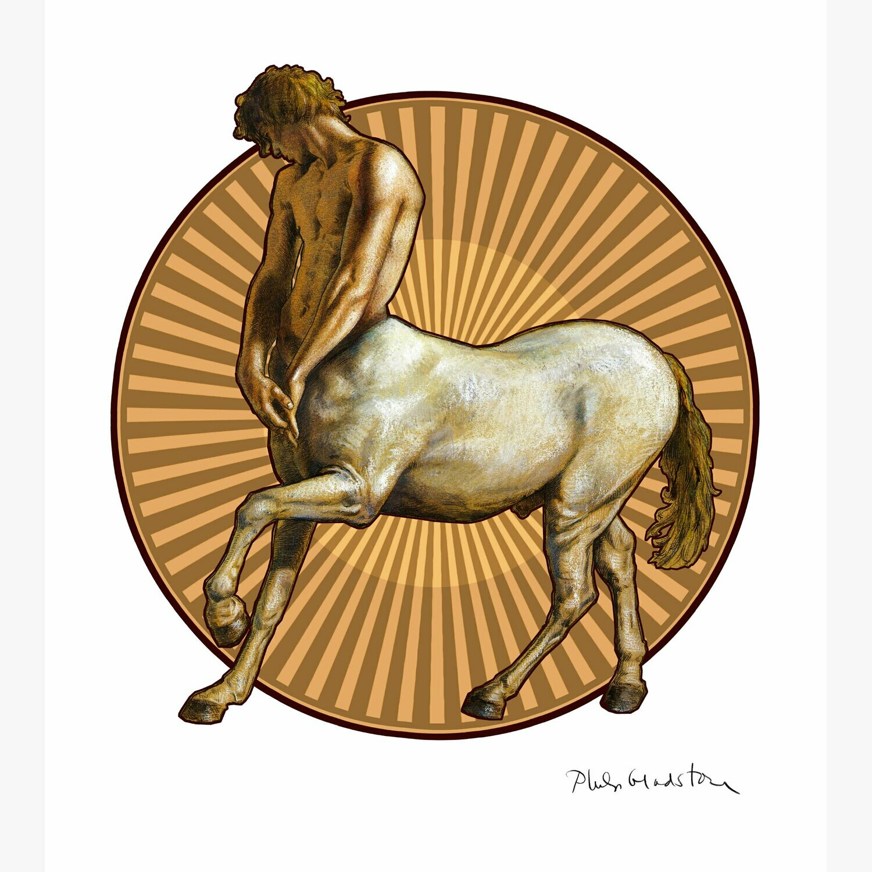 """Pensive Centaur"" Limited Edition Print"