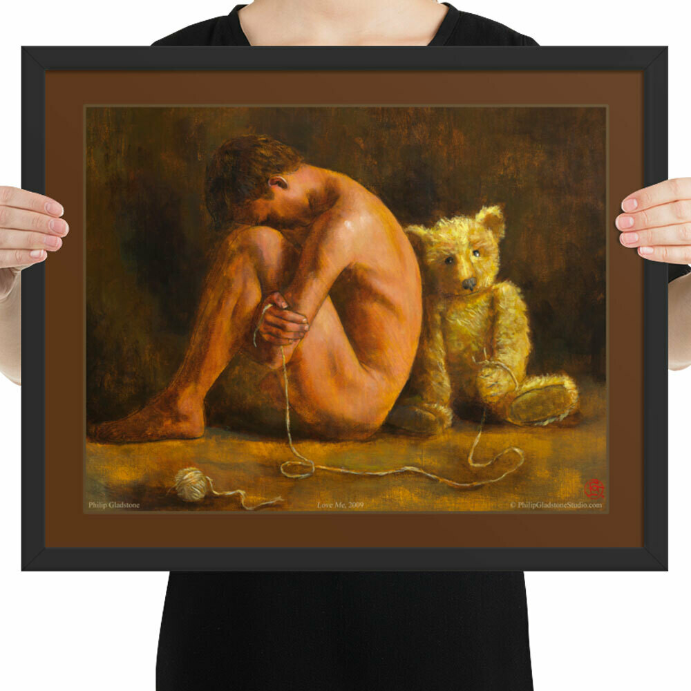 """""""Love Me"""" 16"""" X 20"""" Framed Poster   Free Shipping Worldwide"""