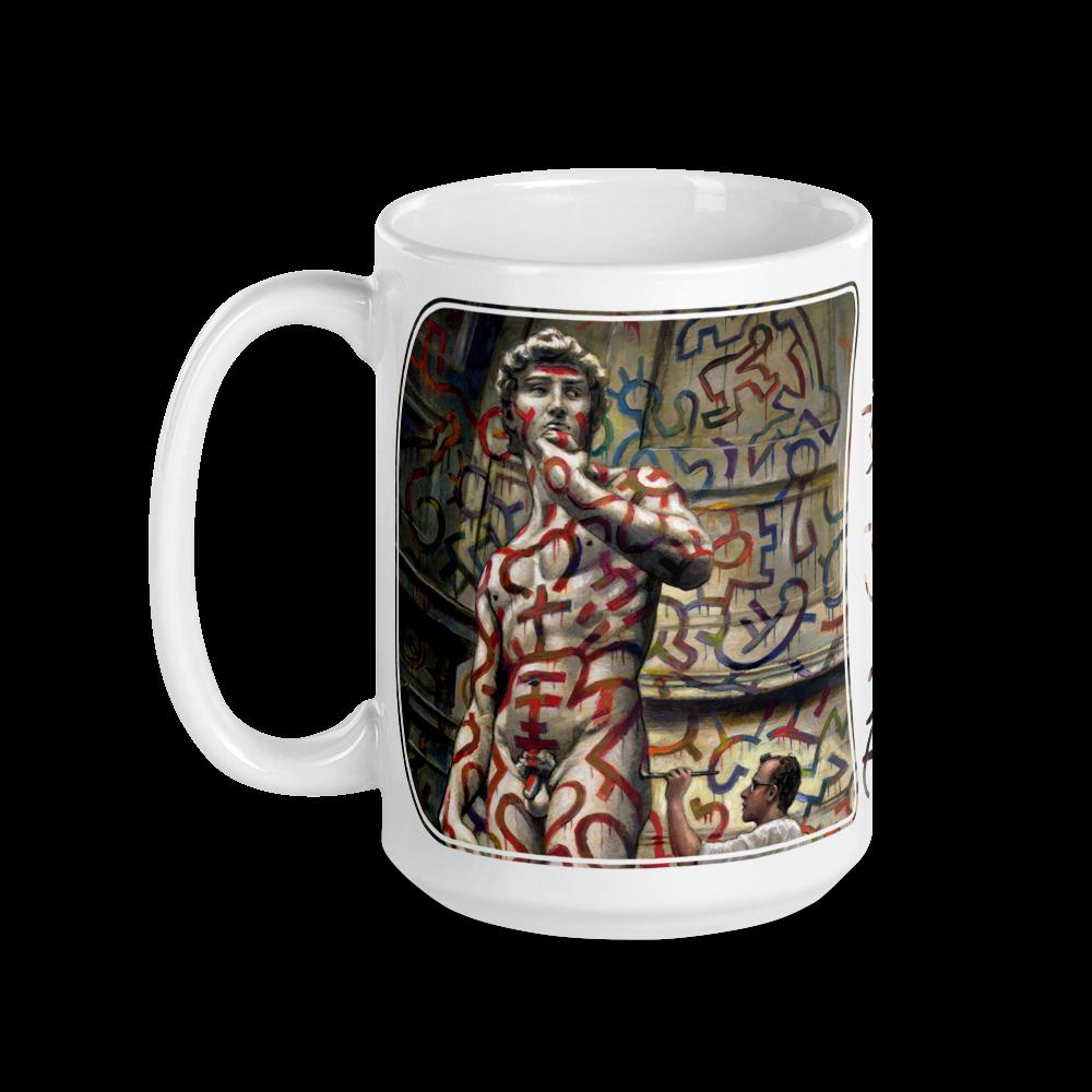 """Fearless"" 15oz Ceramic Mug | Free Shipping Worldwide"