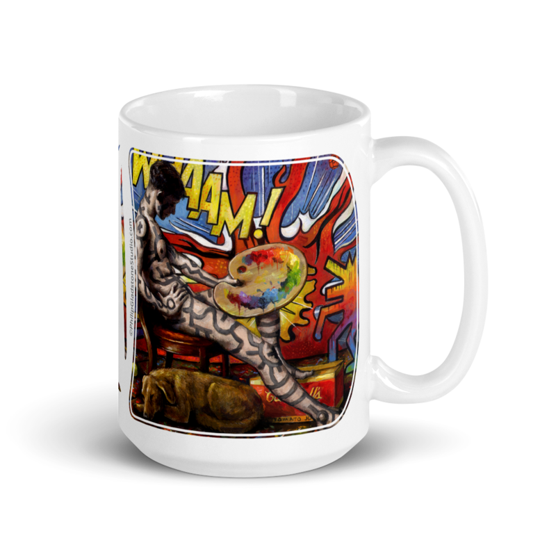 """""""The Young Artist Who Came of Age..."""" 15oz Ceramic Mug 