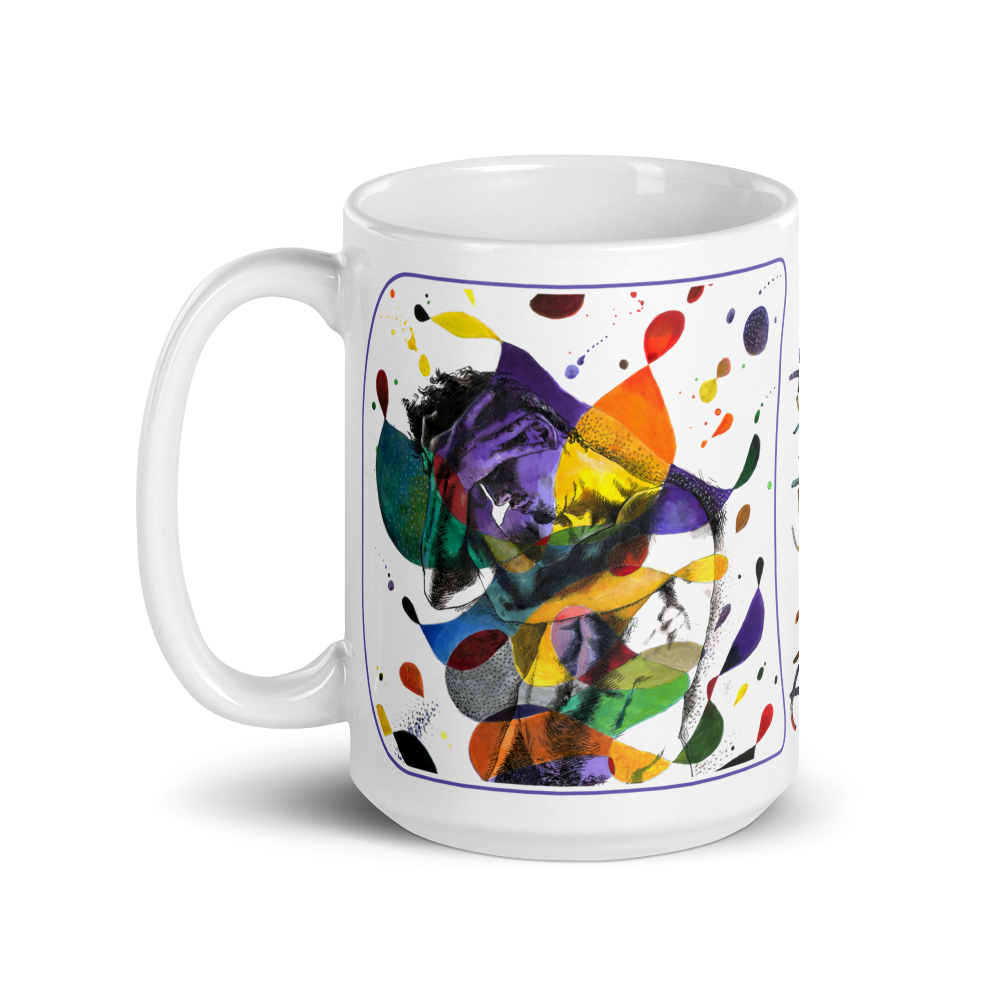 """The Jester"" 15oz Ceramic Mug 
