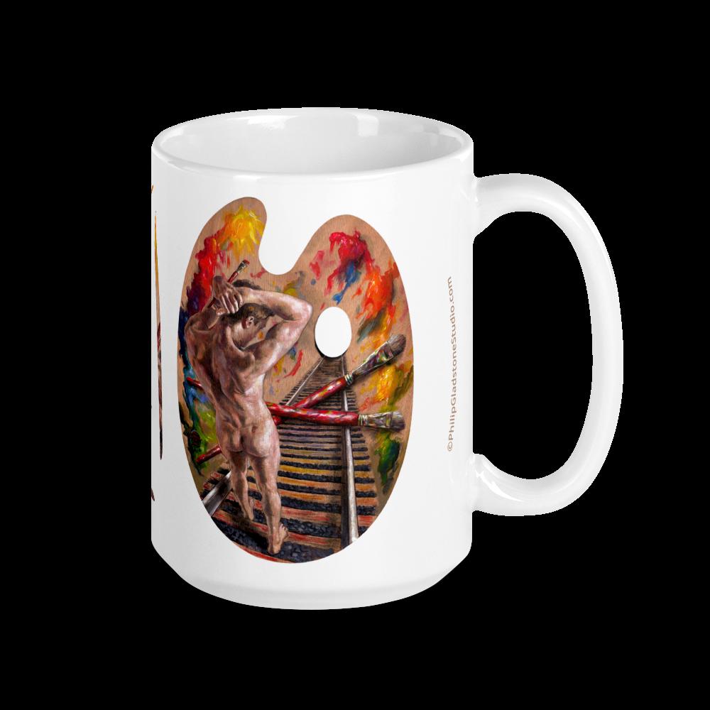 """Crossroads"" 15oz Ceramic Mug | Free Shipping Worldwide"