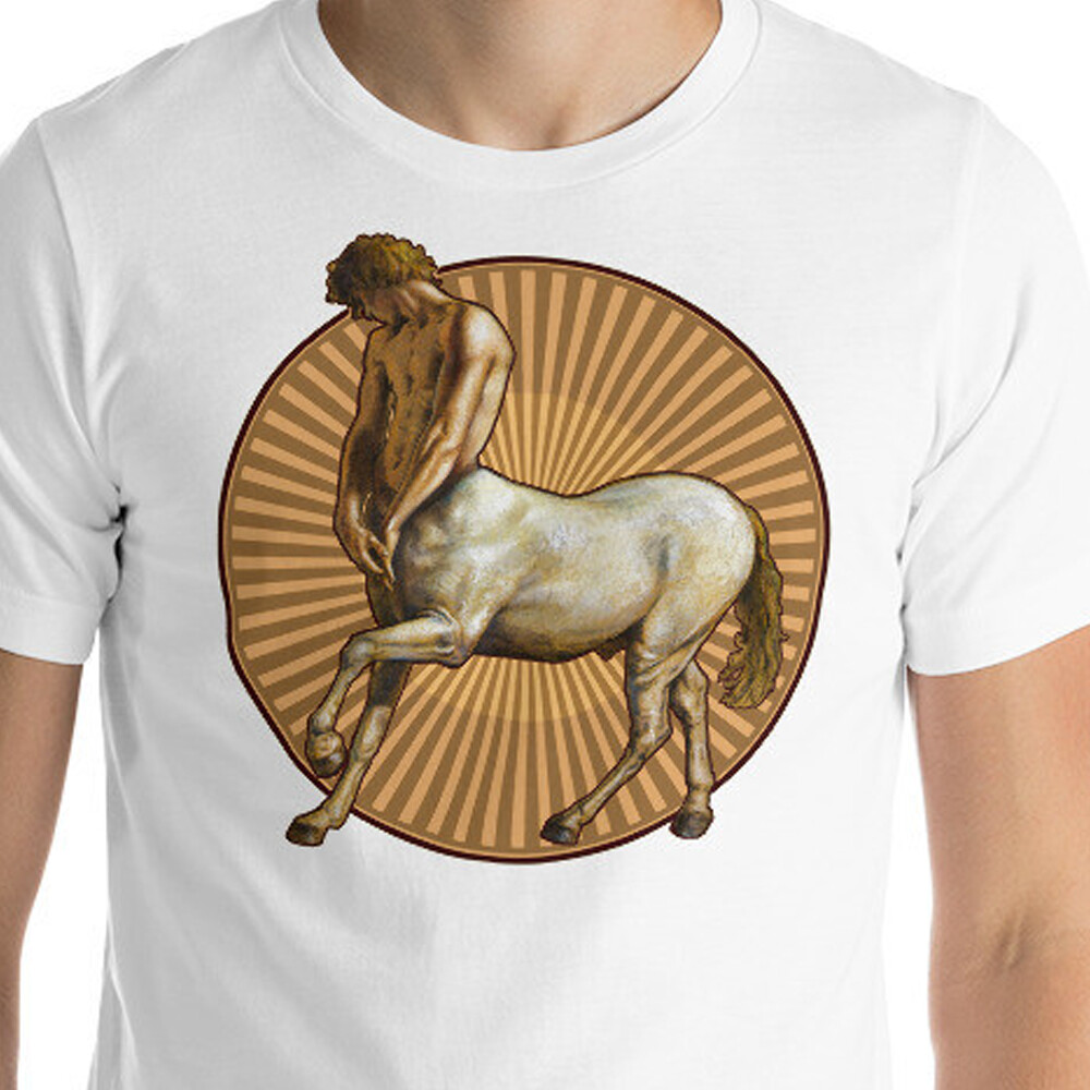 """Pensive Centaur"" Unisex T-Shirt 