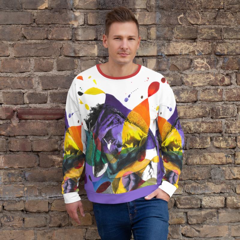 """The Jester"" Unisex Sweatshirt | Free Shipping Worldwide"