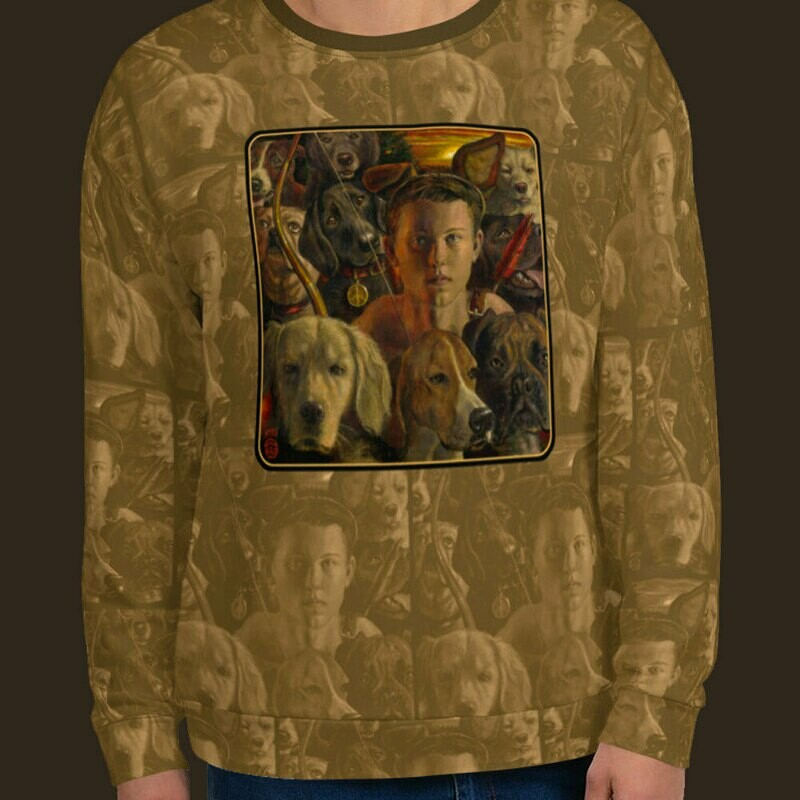 """The Night the Boy Gave Up on People"" Unisex Sweatshirt | Free Shipping Worldwide"