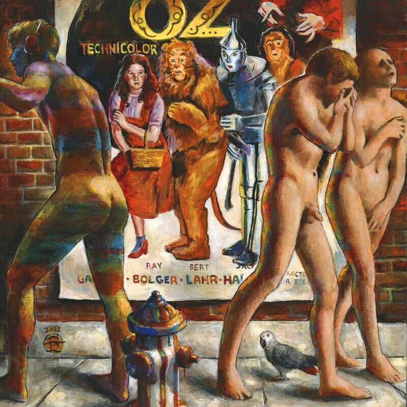 """""""A Technicolor Dreamscape of an Expulsion from Oz"""" Limited Edition Print"""