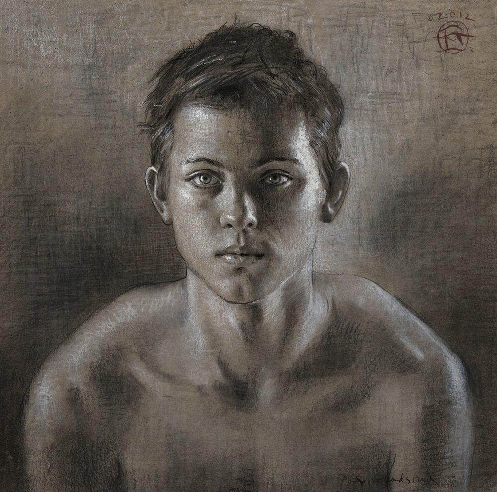 """Portrait of a Boy"" Limited Edition Print"