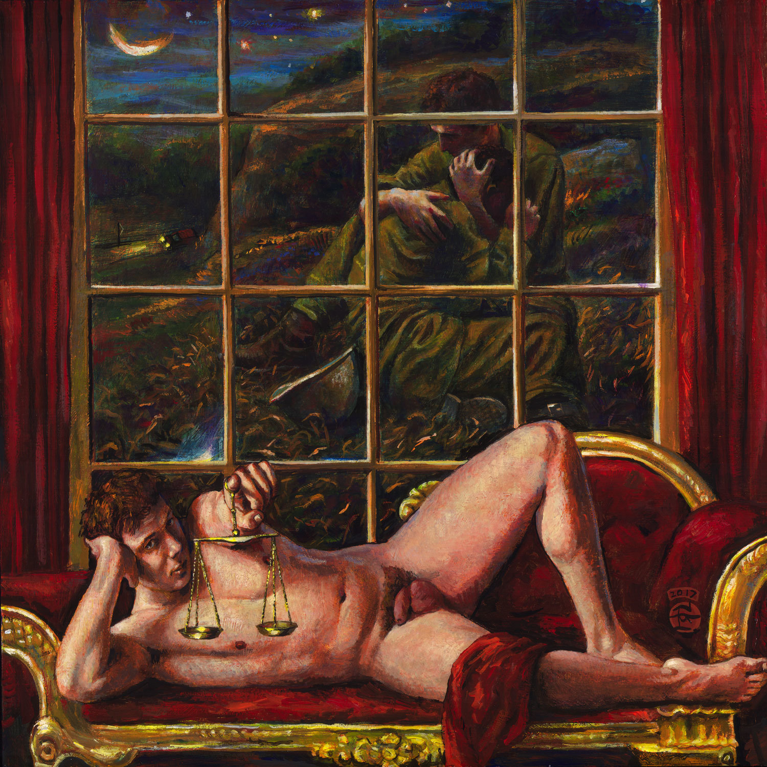 """""""Behind the Gilded Wall"""" Limited Edition Print"""