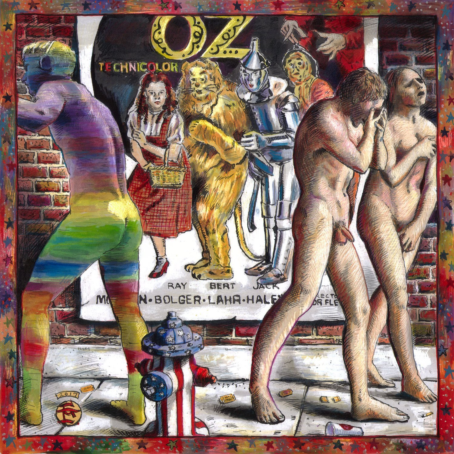 """Expulsion from Oz — The Show's Sold Out"" Limited Edition Print"