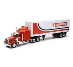 Kenworth W900 Container Truck