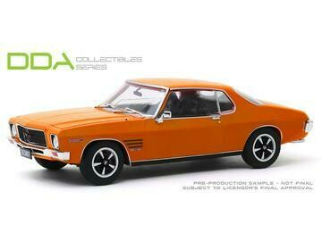 1.24 1973 Holden HQ Monaro Orange GTS 350