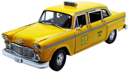 1.18 New York Taxi Diecast