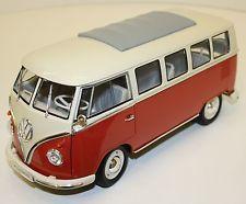 1962 Volkswagen Bus Red