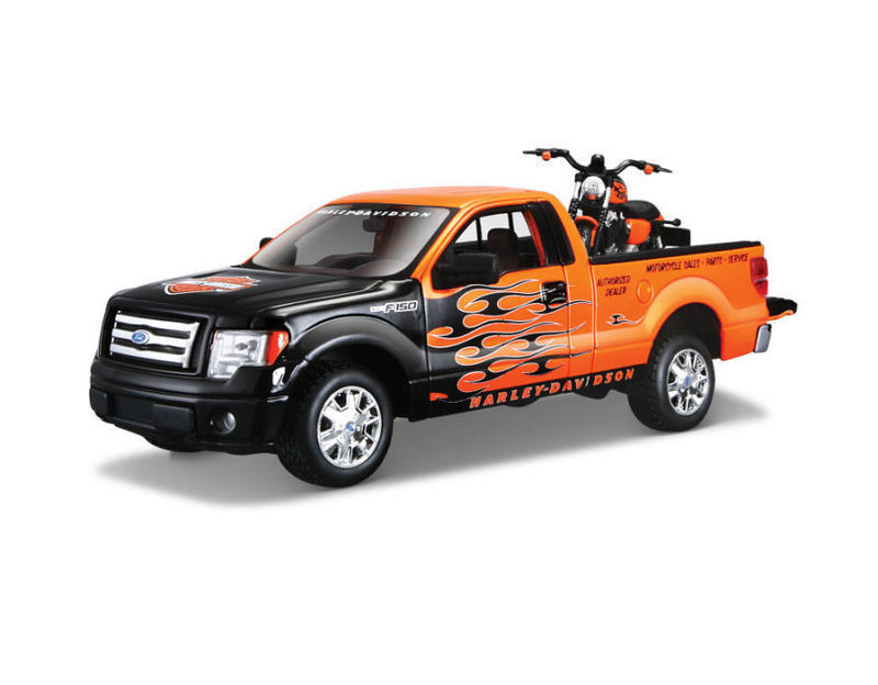 1.27 Scale Ford F150 Harley Davidson Pick Up