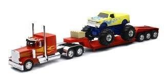 1.32 Peterbilt 379 Flatbed Monster Truck