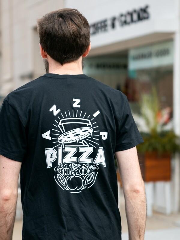 New! Pizza Burst - Heavyweight Eco Tee