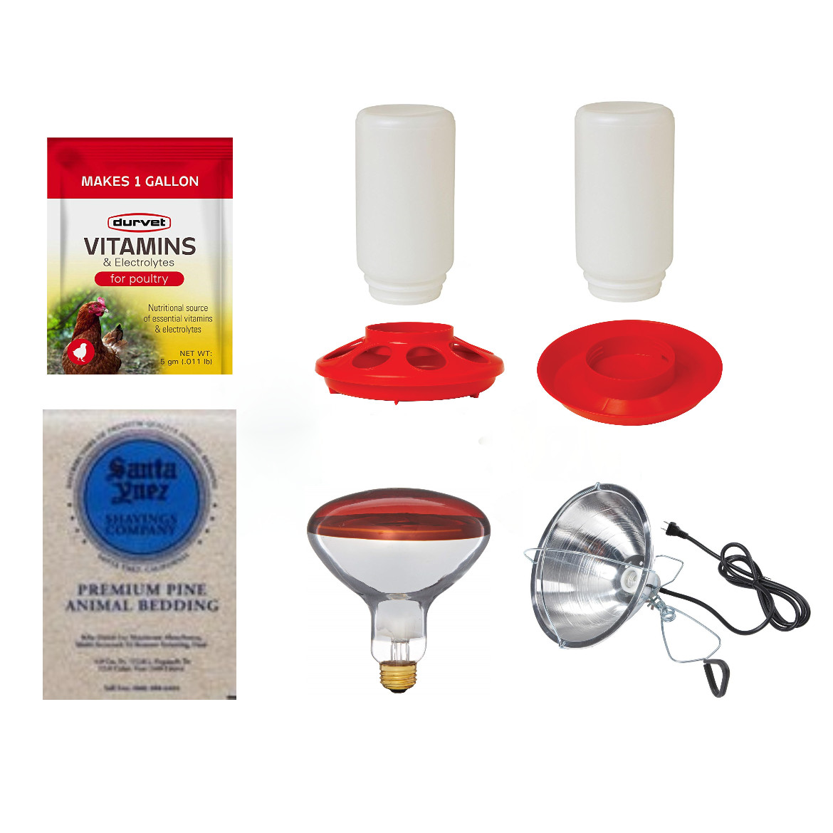 Brooder Supplies Package