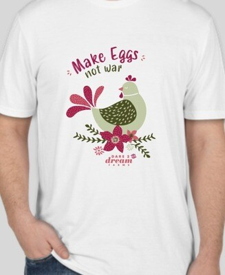 Make Eggs Not War T-Shirt