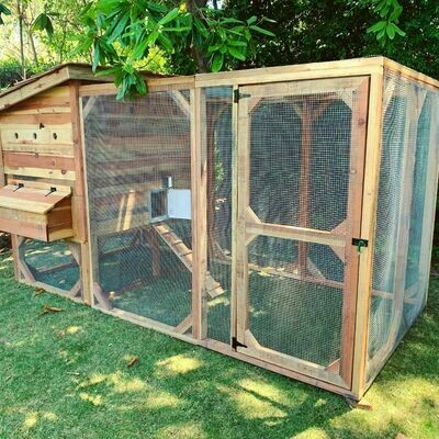 Weathertop Chicken Coop (Large - 4ft x 6ft)