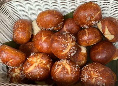 Pretzel Bread (1/2 Dozen)