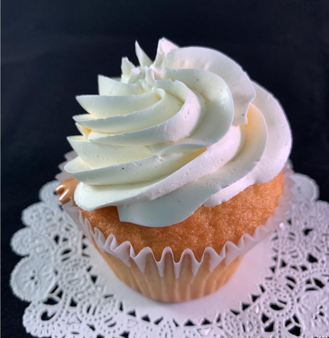 Dolce De Leche Cupcake - 1/2 doz