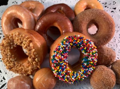Mini Donut Assortment. (16 piece)