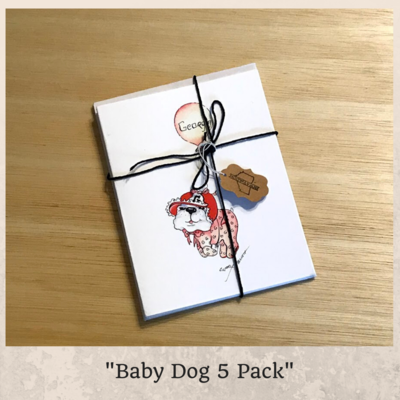 Baby Dog Card Series