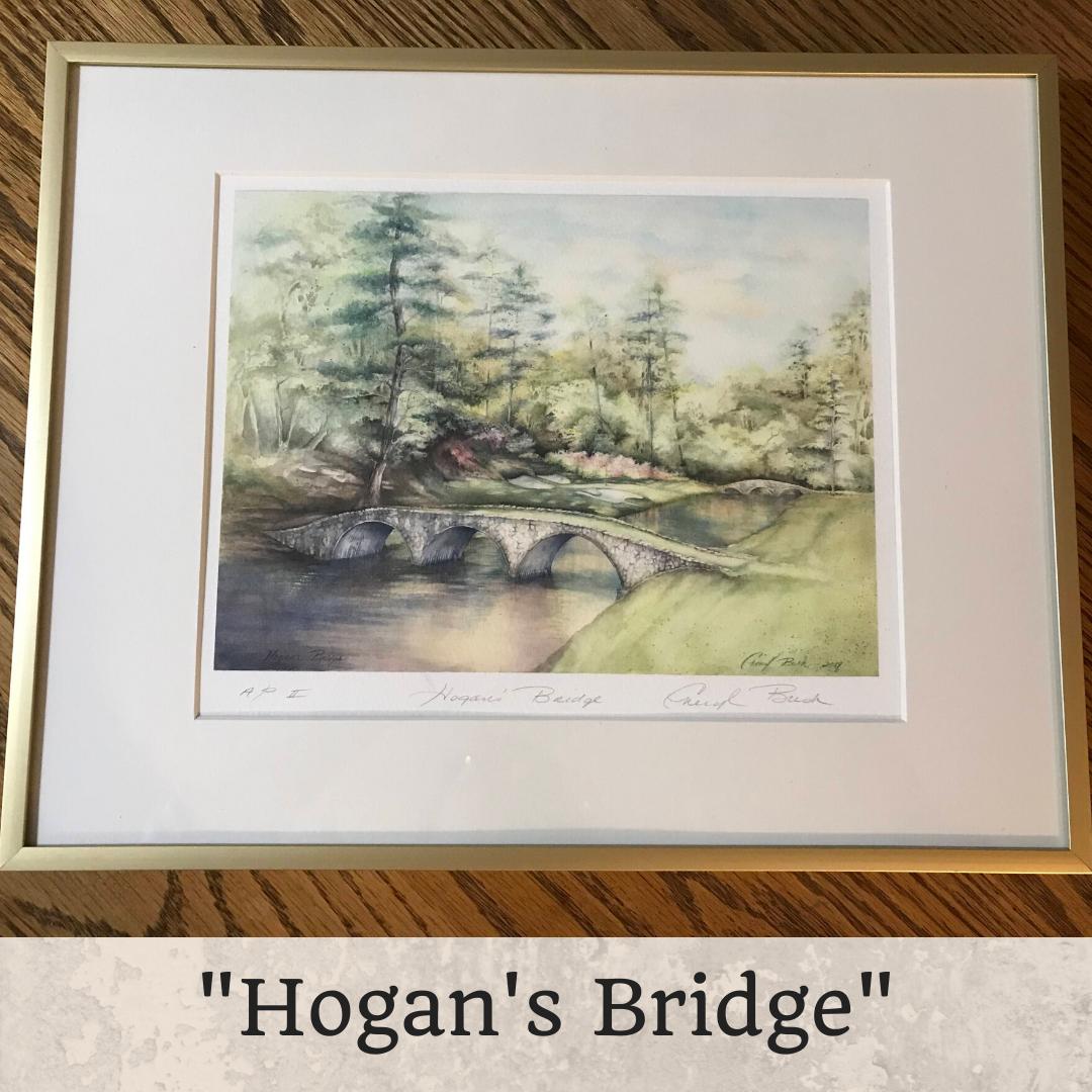 Hogan's Bridge Framed 8 x 10