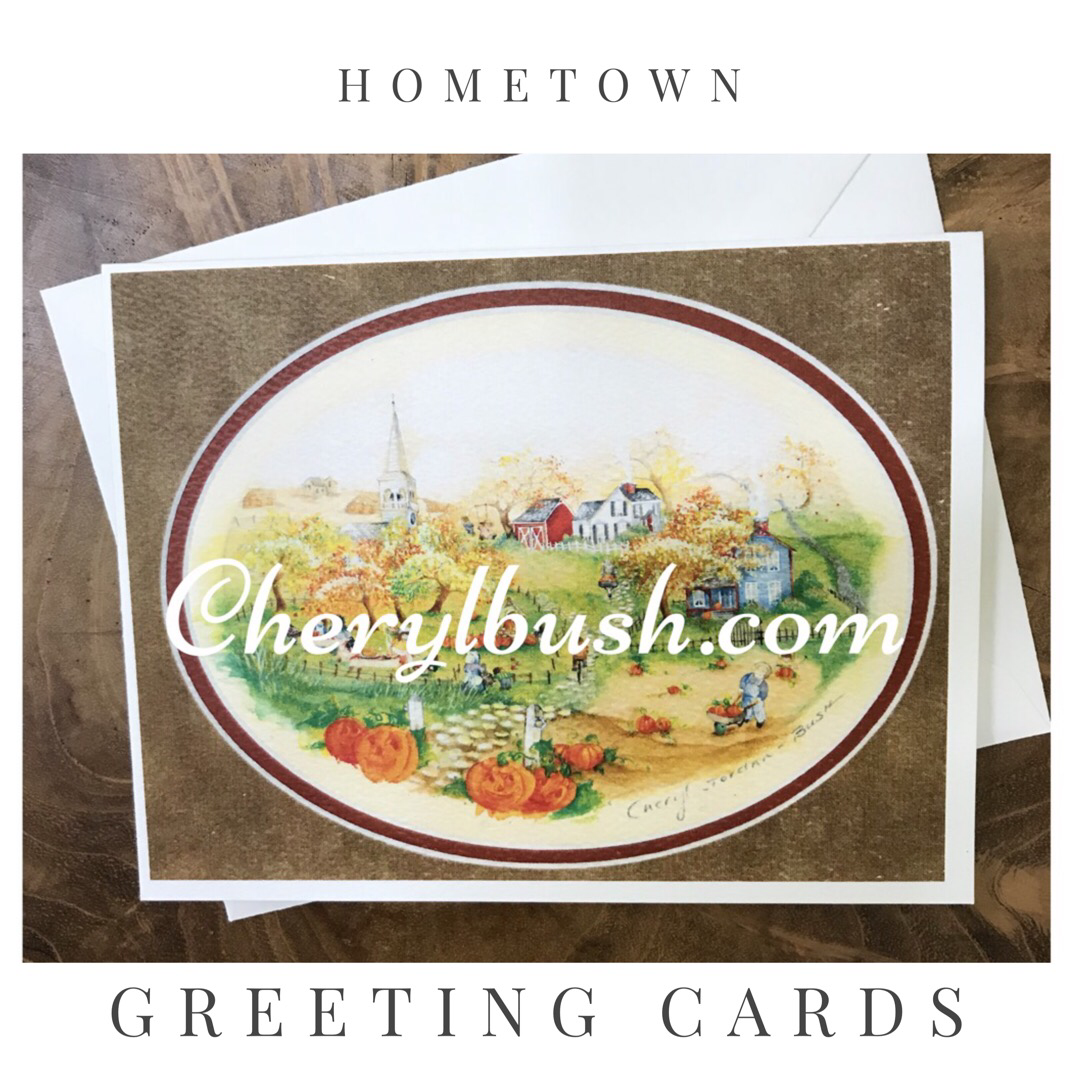 Growing Up In Groton Greeting Cards
