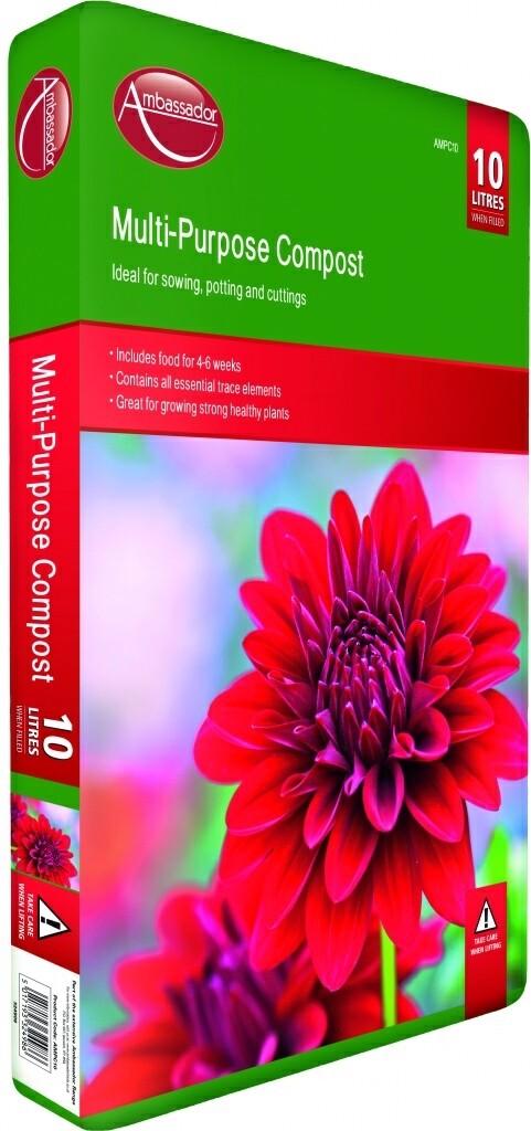 10 Litre - Ambassador - Multi-Purpose Compost